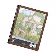 LIHIT LAB Sketch Book -  F4 Size - 343 x 264 mm - 300 grams Paper - 5 Sheets