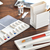 LIHIT LAB Portable Case for Water Coloring