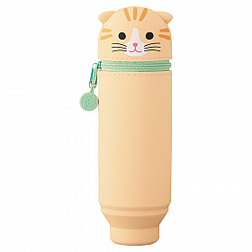 LIHIT LAB Punilabo Stand Pen Case - Tiger Cat (Limited Edition)