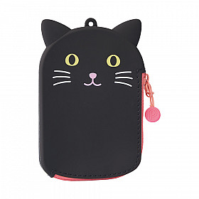 LIHIT LAB Punilabo Pass Pouch - Black Cat