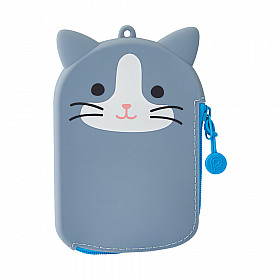 LIHIT LAB Punilabo Pass Pouch - Grey Cat