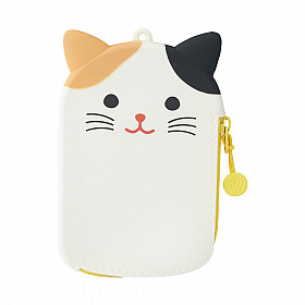 LIHIT LAB Punilabo Pass Pouch - Mikeneko Cat