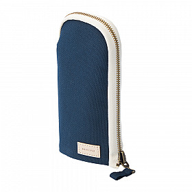LIHIT LAB HINEMO Stand Pen Pouch - Navy