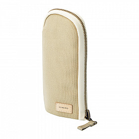 LIHIT LAB HINEMO Stand Pen Pouch - Beige