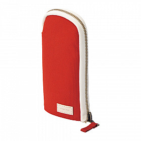 LIHIT LAB HINEMO Stand Pen Pouch - Red