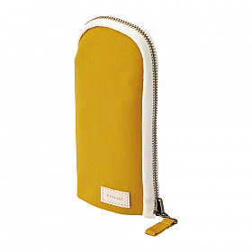 LIHIT LAB HINEMO Stand Pen Pouch - Yellow
