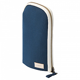 LIHIT LAB HINEMO Stand Pen Pouch - Large - Navy