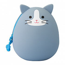LIHIT LAB Punilabo Egg Pouch - Big Size - Grey Cat