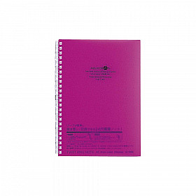 LIHIT LAB Aquadrops Twist Note Notebook - A5 - 30 pages - Ruled - Purple