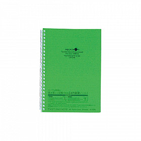 LIHIT LAB Aquadrops Twist Note Notebook - A5 - 30 pages - Ruled - Green