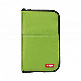 LIHIT LAB Flat Pen Case - Large Size - Green