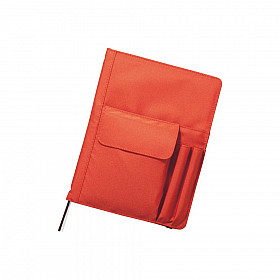 LIHIT LAB Smart Fit Cover Notebook - B5 - Orange