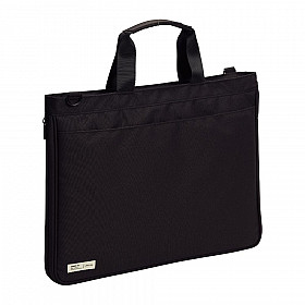LIHIT LAB Smart Fit Carrying Bag - B4 Size - Black