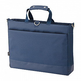 LIHIT LAB Smart Fit Actact Bag - Horizontal Type - Blue