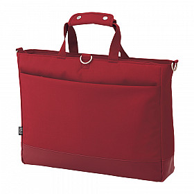 LIHIT LAB Smart Fit Actact Bag - Horizontal Type - Red