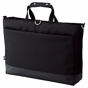 LIHIT LAB Smart Fit Actact Bag - Horizontal Type - Large - Black