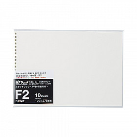 LIHIT LAB Sketch Book Refill -  F2 Size - 190 x 278 mm - 300 grams Paper - 10 Sheets