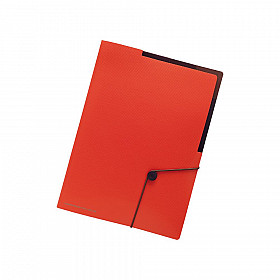 LIHIT LAB Smart Fit Carrying Holder - Size A4 - Orange