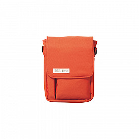 LIHIT LAB Smart Fit Carrying Pouch - A6 Size - Orange