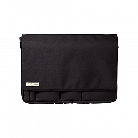 LIHIT LAB Smart Fit Pouch - A4 Size - Black