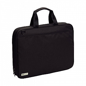 LIHIT LAB Smart Fit Bag - B4 Size - Black