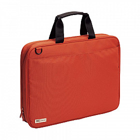 LIHIT LAB Smart Fit Bag - B4 Size - Orange