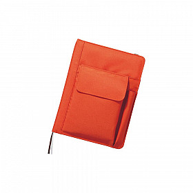 LIHIT LAB Smart Fit Cover Notebook - A5 - Orange