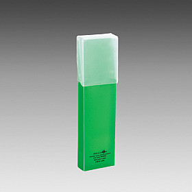 LIHIT LAB Aqua Drops Slide Pen Case - Green