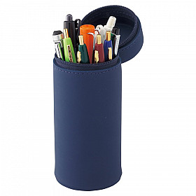 LIHIT LAB Smart Fit Act Stand Pen Case - Blue