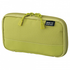 LIHIT LAB Smart Fit Act Compact Pen Case - Green